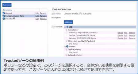 Safetica DLP Trustedゾーンの使用例
